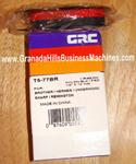 GRC T5BR Brother, Smith Corona & Underwood Black & Red Nylon Typewriter Ribbon